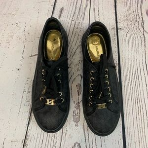 Michael Kors Women's Sneakers Gold Hardware